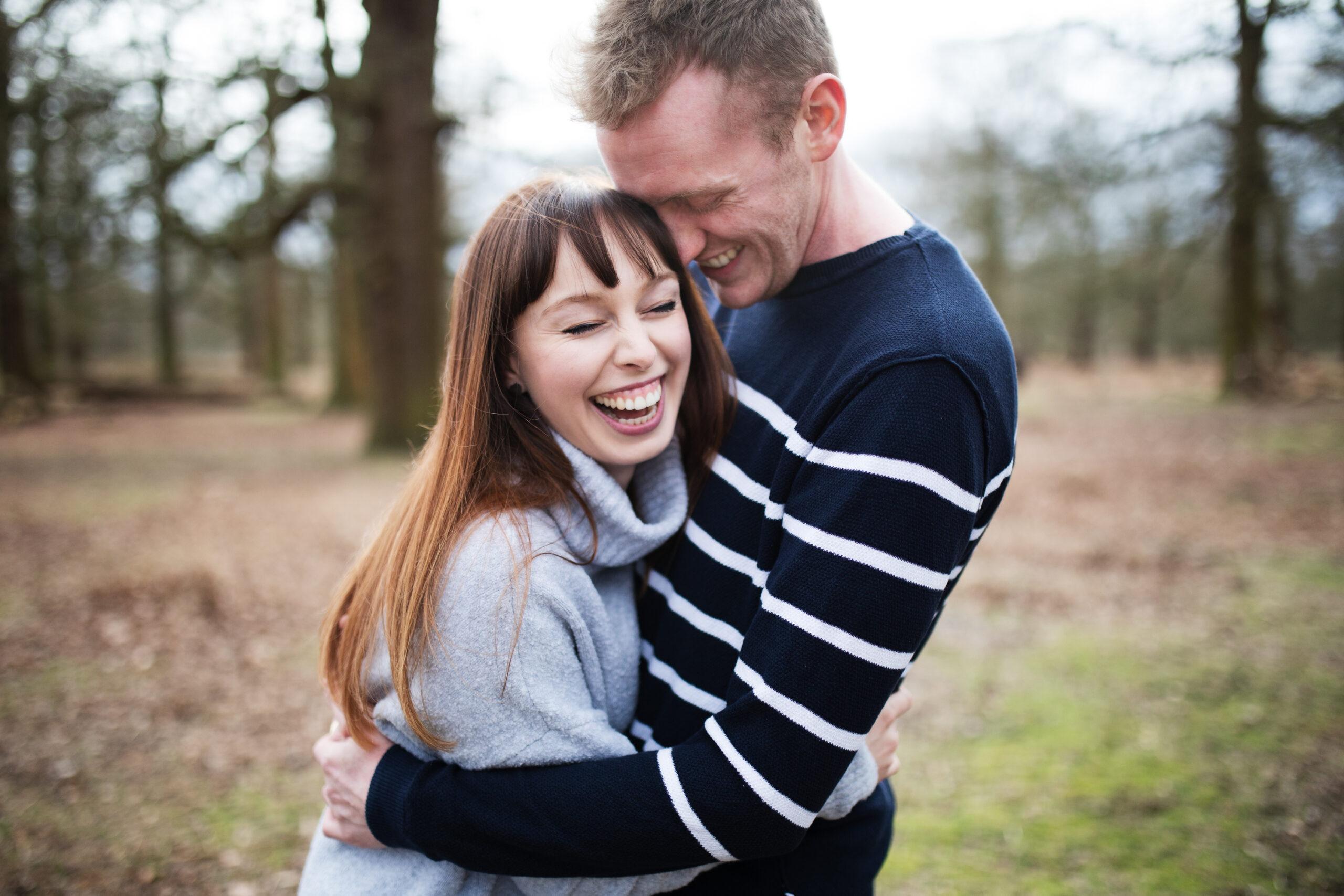 Super fun engagement shoot Dunham Massey, Cheshire   Rebecca & Andy