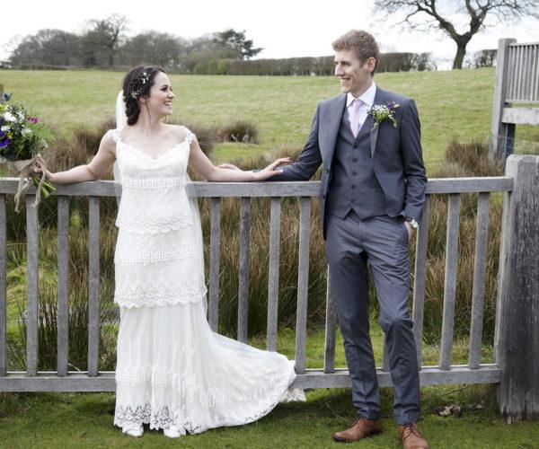 Catherine and John Wedding by Amanda Morgan Photographer